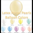 Latex Balloons - Pastel Pearls