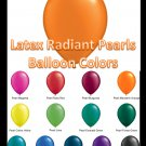 Latex Balloons - Radiant Pearls