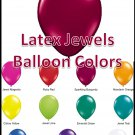 Latex Balloons - Jewels
