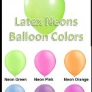Latex Balloons - Neons