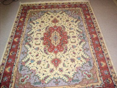 SILK & WOOL TOP QUALITY PERSIAN RUG FROM TABRIZ
