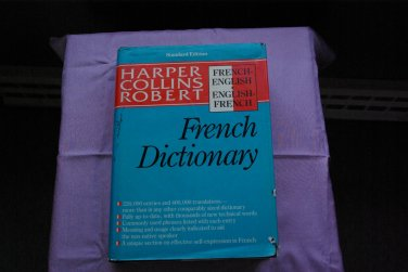 Dictionary French-English English-French Harper Collins Robert