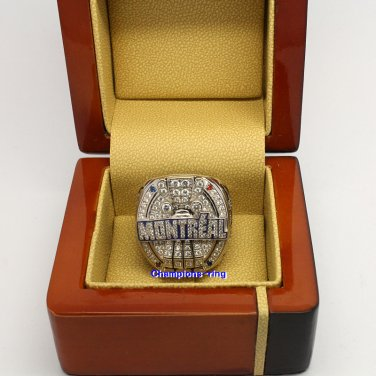2010 Montreal Alouettes CFL Grey Cup Championship Ring
