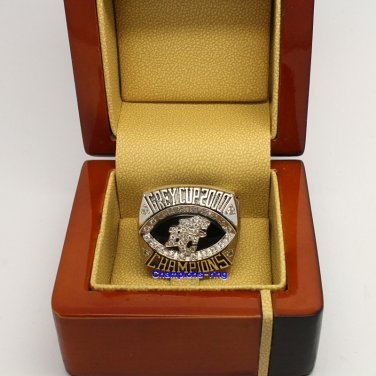 2000 BC Lions CFL Grey Cup Football Championship Ring