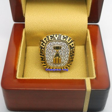 1995 Baltimore Stallions CFL Grey Cup Football Championship Ring