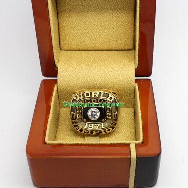 1971 Pittsburgh Pirates mlb World Series Baseball League Championship Ring