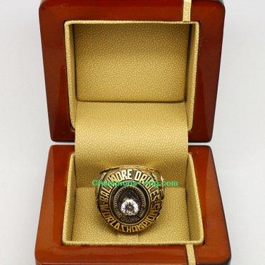 1970 Baltimore Orioles mlb World Series Baseball League Championship Ring