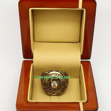 1953 New York Yankees mlb World Series Baseball League Championship Ring