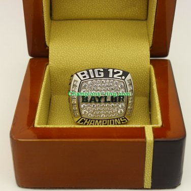 2014 Baylor Bears Big 12 Co�Champions NCAA Football Championship Ring