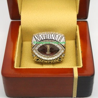 2013 Florida States Seminoles FSU BCS NCAA Football Championship Ring