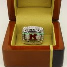 2012 Rutgers Scarlet Knights Big East NCAA Football Championship Ring