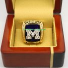 2012 Michigan Wolverines Sugar Bowl NCAA Football Championship Ring