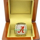 2008 Alabama Crimson Tide Sugar Bowl BCS NCAA Football National Championship Ring