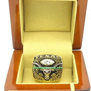 2007 Texas Longhorns Holiday Bowl NCAA Football National Championship Ring
