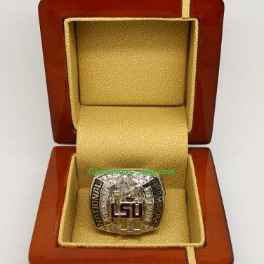 2007 LSU Tigers BCS NCAA Football National Championship Ring
