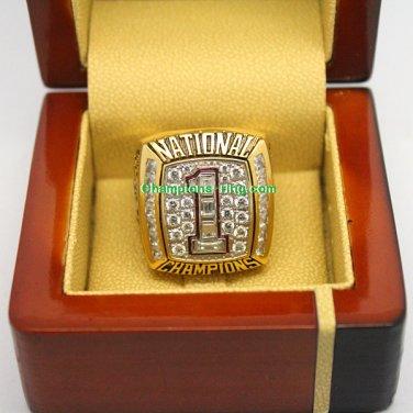 2005 Texas Longhorns NCAA Football National Championship Ring