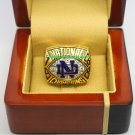 1988 Notre Dame Fighting Irish NCAA Football National Championship Ring