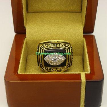 1988 Cincinnati Bengals AFC American Football Championship Ring