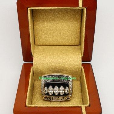 2002 Oakland Raiders AFC American Football Championship Ring