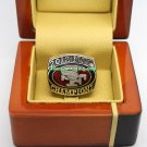 2012 San Francisco 49ers NFC National Football Conference Championship Ring