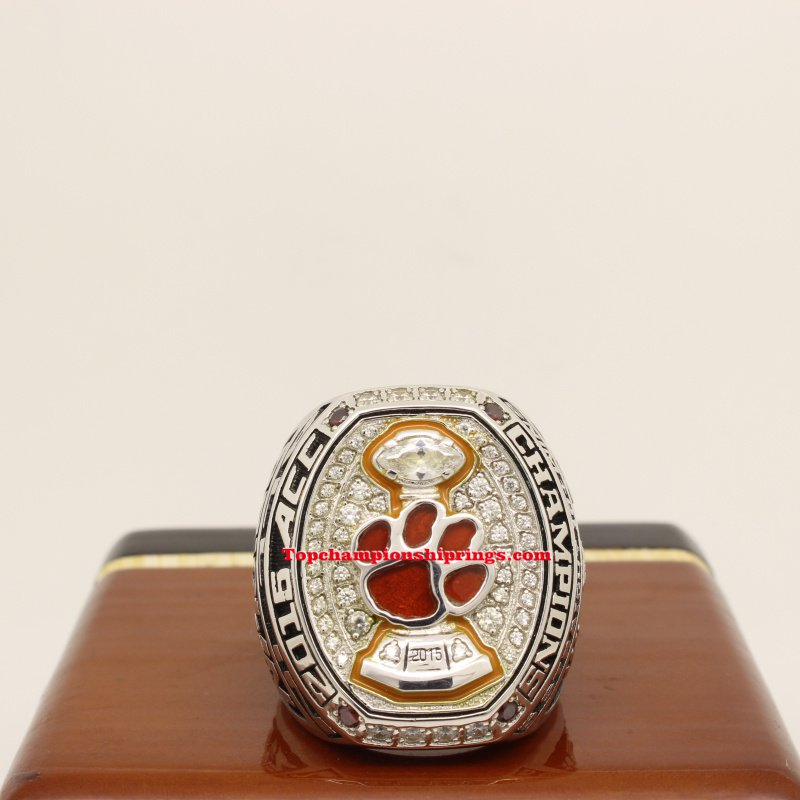2015 Clemson Tigers ACC Football Championship Ring