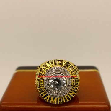 1985 Edmonton Oilers NHL Stanley Cup Hockey Championship Ring