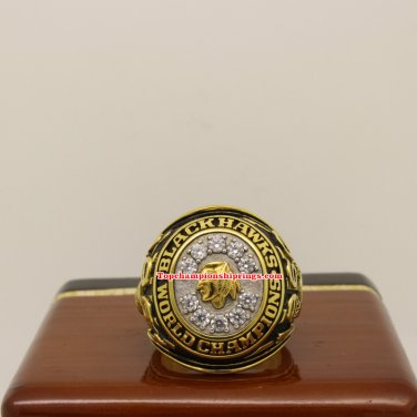 1961 Chicago Blackhawks NHL Stanley Cup Hockey Championship Ring