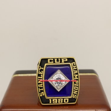 1980 New York Islanders NHL Stanley Cup Hockey Championship Ring