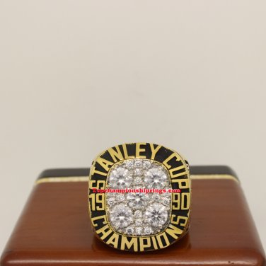 1990 Edmonton Oilers NHL Stanley Cup Hockey Championship Ring
