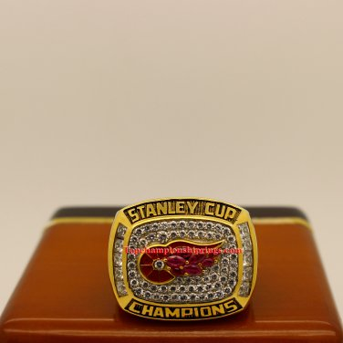 1998 Detroit Red Wings NHL Stanley Cup Hockey Championship Ring