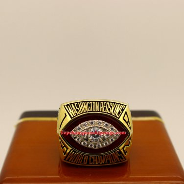 1982 Washington Redskins Super Bowl XVII nfl Football Championship Ring
