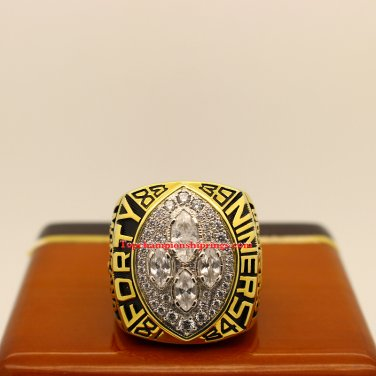 1989 San Francisco 49ers Super Bowl XXIV nfl Football Championship Ring
