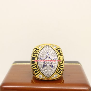 1992 Dallas Cowboys Super Bowl XXVII nfl Football Championship Ring