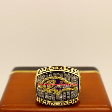 2000 Baltimore Ravens Super Bowl XXXV Football Championship Ring