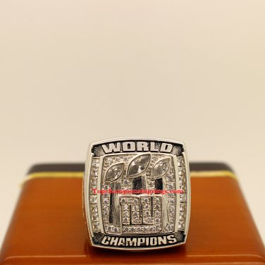 2007 New York Giants Super Bowl XLII Football Championship Ring