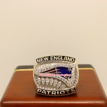 2011 New England Patriots AFC American Football Championship Ring