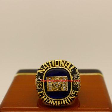 1989 Michigan Wolverines NCAA Basketball National Championship Ring
