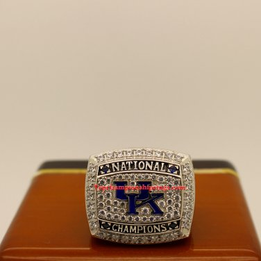 2012 Kentucky Wildcats Ncaa Basketball Championship Ring