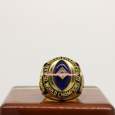 1963 San Diego Chargers AFL Championship Ring