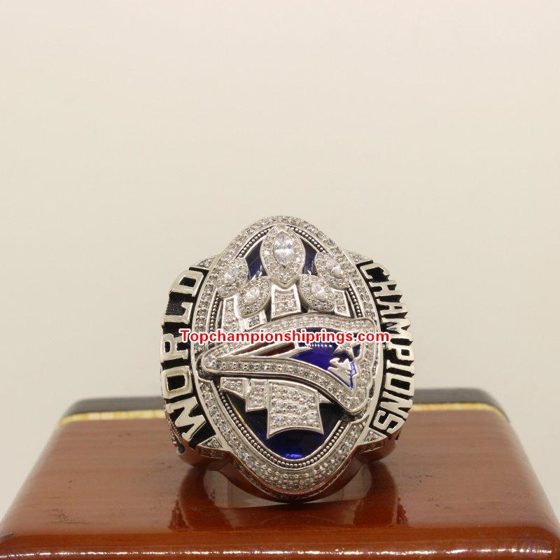 2016 New England Patriots NFL Super Bowl Football Championship Ring- BRADY
