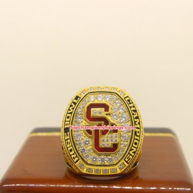 2016 USC Trojans NCAA Rose Bowl Football Championship Ring