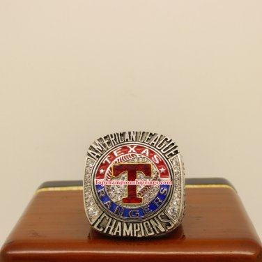 2011 Texas Rangers AL American League Baseball Championship Ring