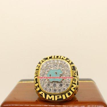 2005 North Carolina Tar Heels NCAA Basketball Championship Ring