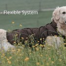 "On Sale: (3XL) Warm Dog Winter Coat w/ Fleece Lining, 25"", Brown"