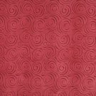 "54"""" B304 Red, Abstract Swirl Microfiber Upholstery Fabric By The Yard"