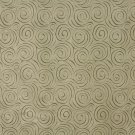 "54"""" B306 Green, Abstract Swirl Microfiber Upholstery Fabric By The Yard"