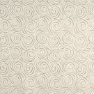 "54"""" B309 Off White, Abstract Swirl Microfiber Upholstery Fabric By The Yard"