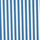 """54"""""""" B485 Blue, Striped Indoor Outdoor Marine Scotchgard Upholstery Fabric By The Yard"""