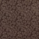 """B621 Brown, Floral Leaf Jacquard Woven Upholstery Fabric By The Yard 