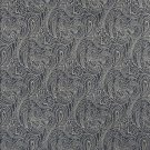 """B627 Navy Blue, Traditional Paisley Jacquard Woven Upholstery Fabric By The Yard 